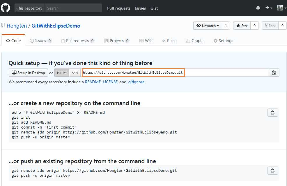git how to create repository